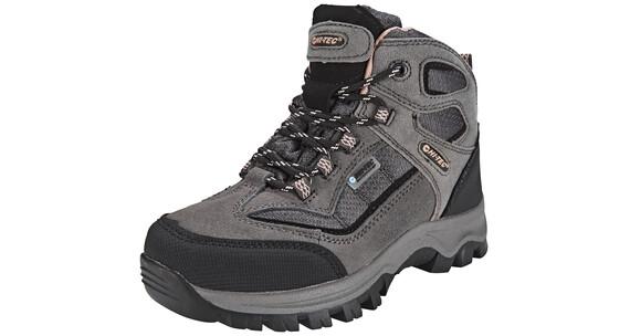 Hi-Tec Hillside WP Shoes Kids Charcoal/Blush